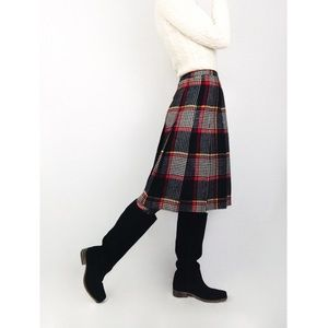 Vintage 💫 Young Pendleton Plaid Pleated Skirt